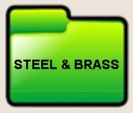 steel brass
